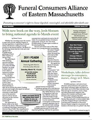 2011 Annual Newsletter