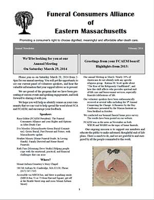 2014 Annual Newsletter