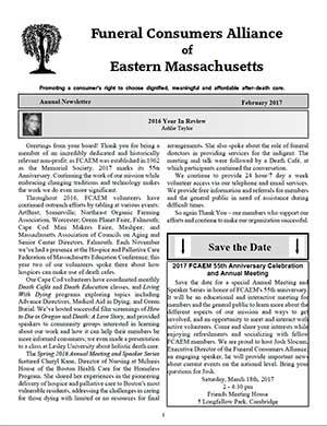 2017 Annual Newsletter